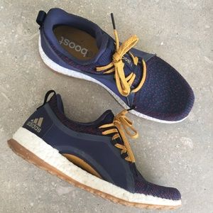 ADIDAS Pure Boost X Blue Sneakers